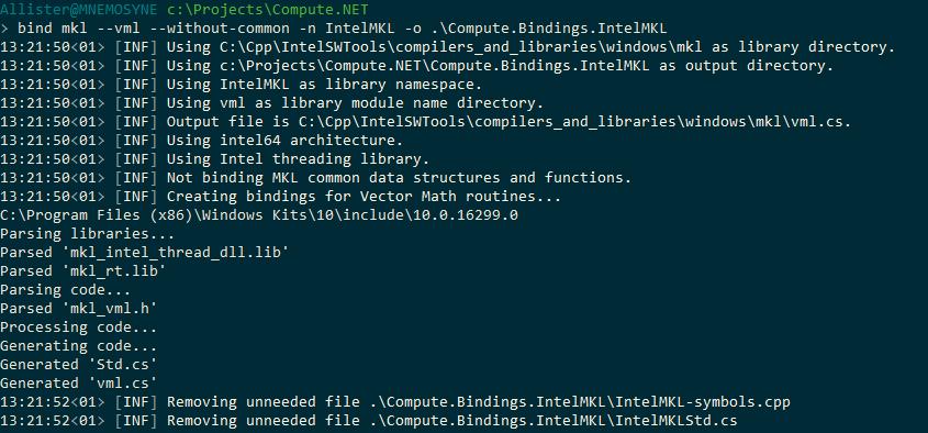 bind program screenshot
